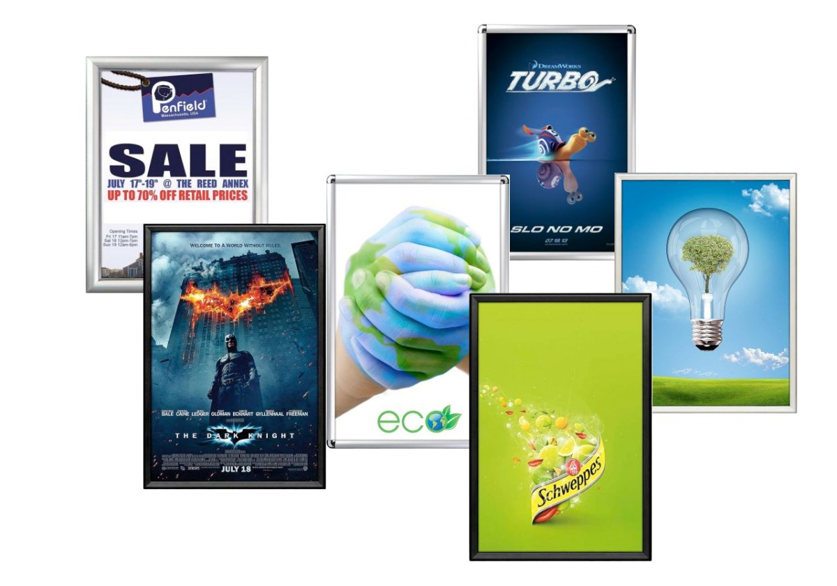 snap frames and sign holders by Clip Strip Corp