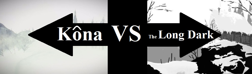 Snow-Bound Shootout. Kôna VS The Long Dark