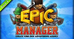 Epic Manager is a Kickstarter where you manage an adventuring agency.