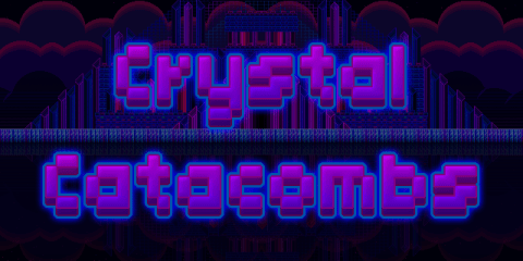 Crystal Catacombs is a retro style Mega Man / Castlevania style game. Heres our review.