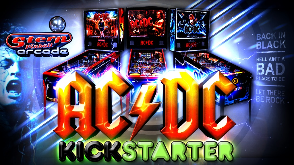 Spare $100k For a AC/DC Pinball Table on Kickstarter?