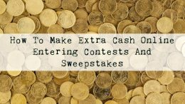 Online contests and sweepstakes