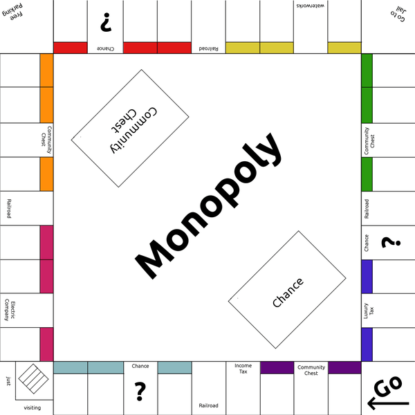 Monopoly Game Vector Monopoly Template By Lunarcloud D Bdjts Free Images At