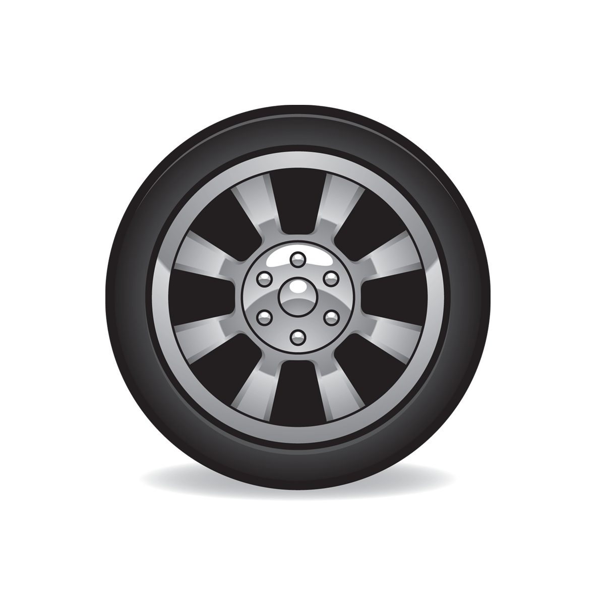 Tire Icon Full Size Free Images At Clker Com Vector