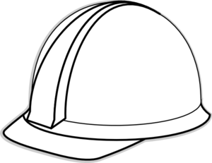 White Hard Hat Clip Art At Clker Com Vector Clip Art - Transparent Kleider