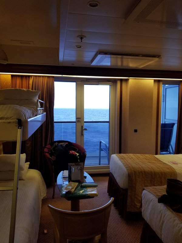 Where Can I Find A Sofa Bed Suite 6183 On Carnival Pride, Category U3