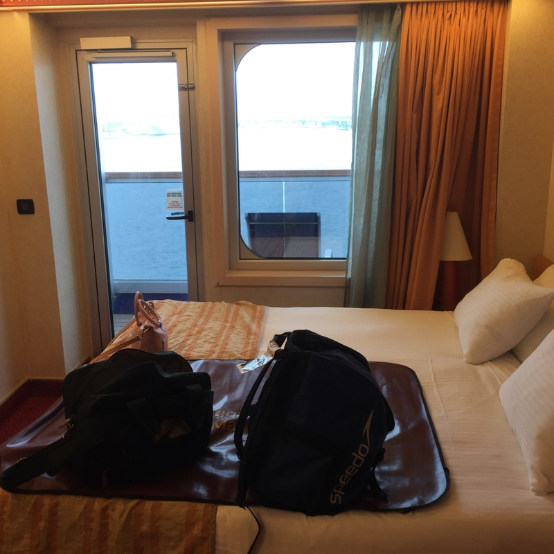 Balcony Cabin 8437 On Carnival Conquest Category 8c