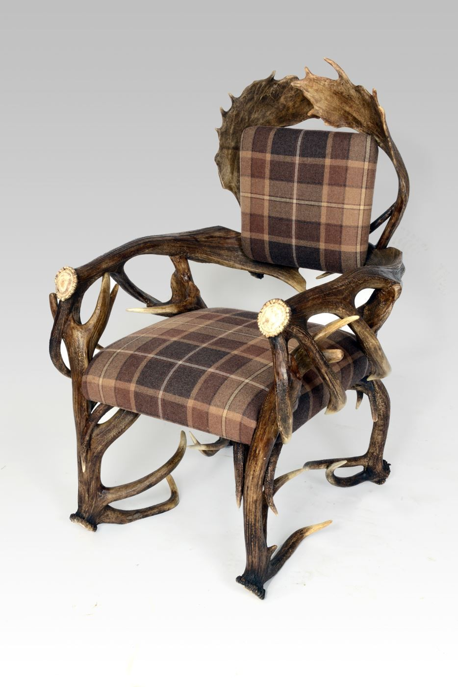 Meubles Fraser Furniture Fraser Chair Fallow Deer Antlers