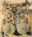1950's Regula Cuckoo Clock Movement