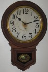 Ansonia Round Drop Wall Clock