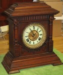 "Ansonia ""Sharon"" Cabinet Clock"