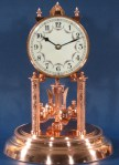 Schatz Copper Plated 400 Day Clock