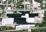 Satellite View of Old Westclox Factory, Peru, Illinois