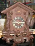 Schatz Cuckoo Clock Dated 10 54 (October 1954)