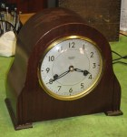 Smith's Enfield Striking Mantel Clock