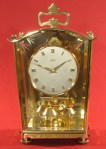 "Schatz ""Bermuda Coach"" 400 Day Anniversary Clock Dated 6-55"