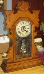 "Ansonia ""Burton"" Oak Kitchen or Shelf Clock"