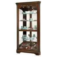 Howard Miller Tessa Corner Curio Display Cabinet 680605