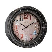 """Paris 17.75"""" Decorative Wall Clock Bulova C4824"""