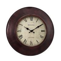 "Bulova Watford 18"" Decorative Wall Clock C4825"