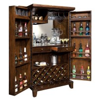 Home Bar & Wine Cabinet Howard Miller Rogue Valley 695122 ...