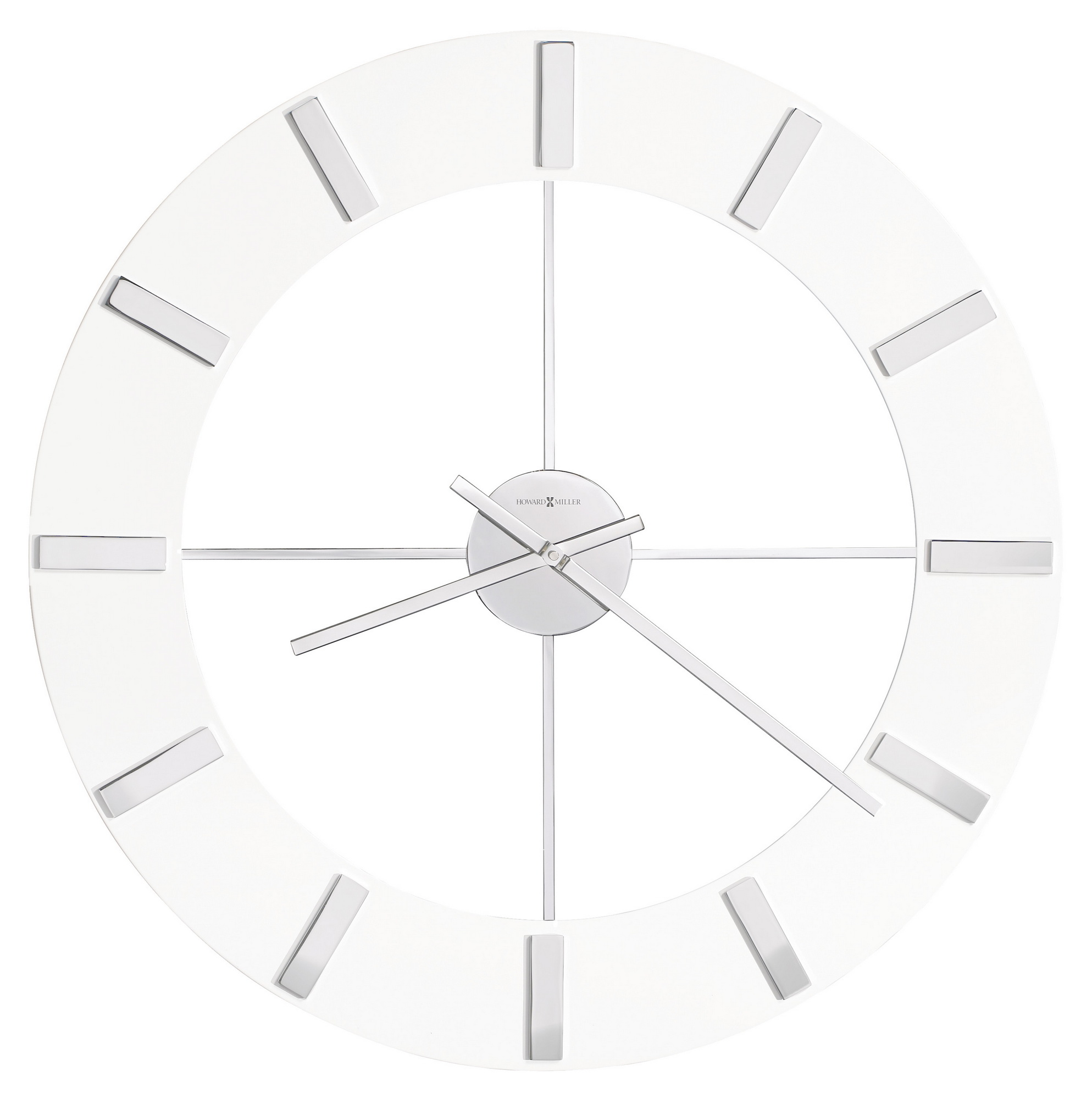 High End Alarm Clocks Clockway Howard Miller Deluxe 30in Contemporary Wall