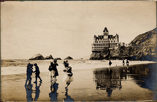 The Cliff House, San Francisco, 1896, from www.cliffhouse.com