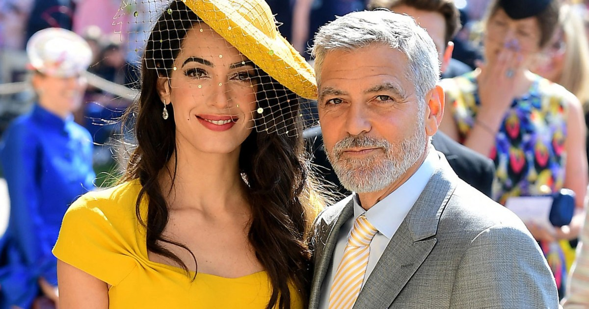 Royale Hochzeiten George Clooney And Amal Clooney's Twins Celebrate Their
