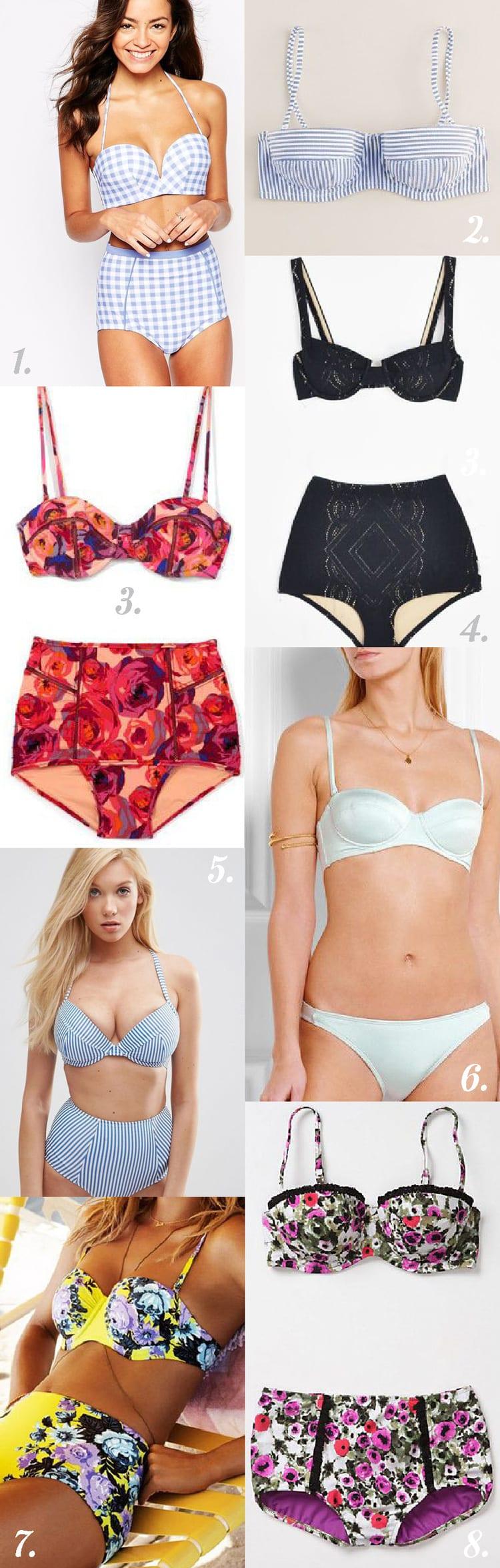 Bikini styling inspiration // Sophie Swimsuit // Closet Case Files
