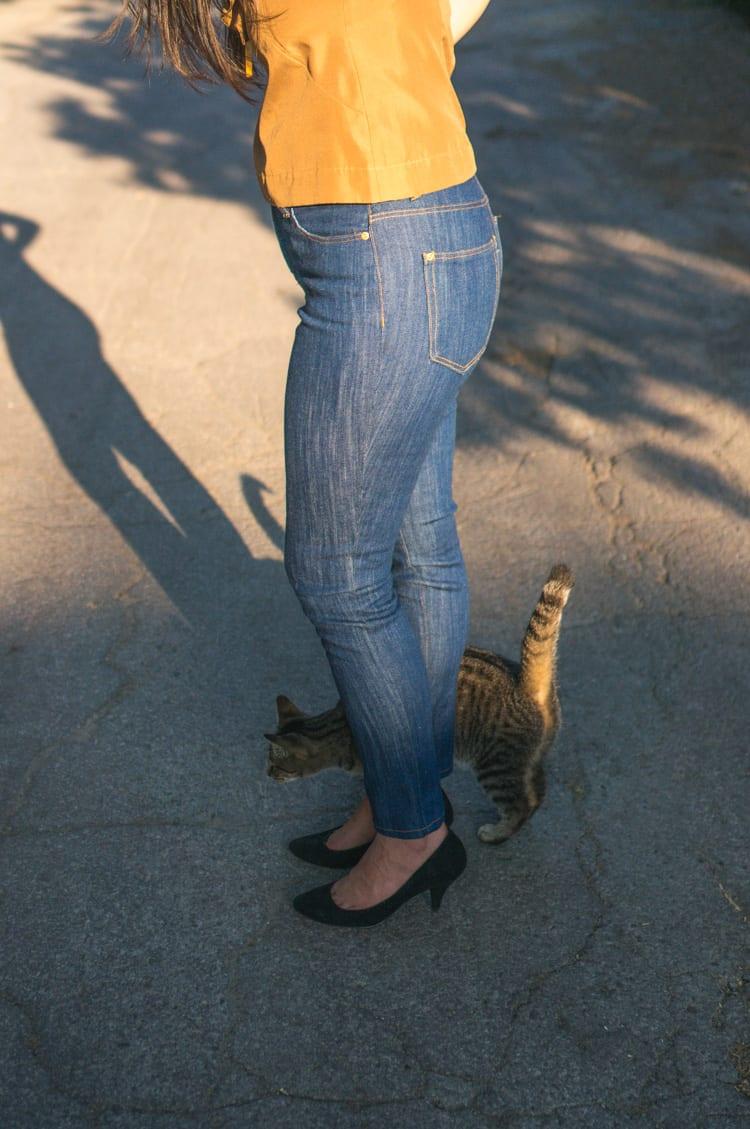 Ginger Jeans Pattern usinG Italian denim // Closet Case Files