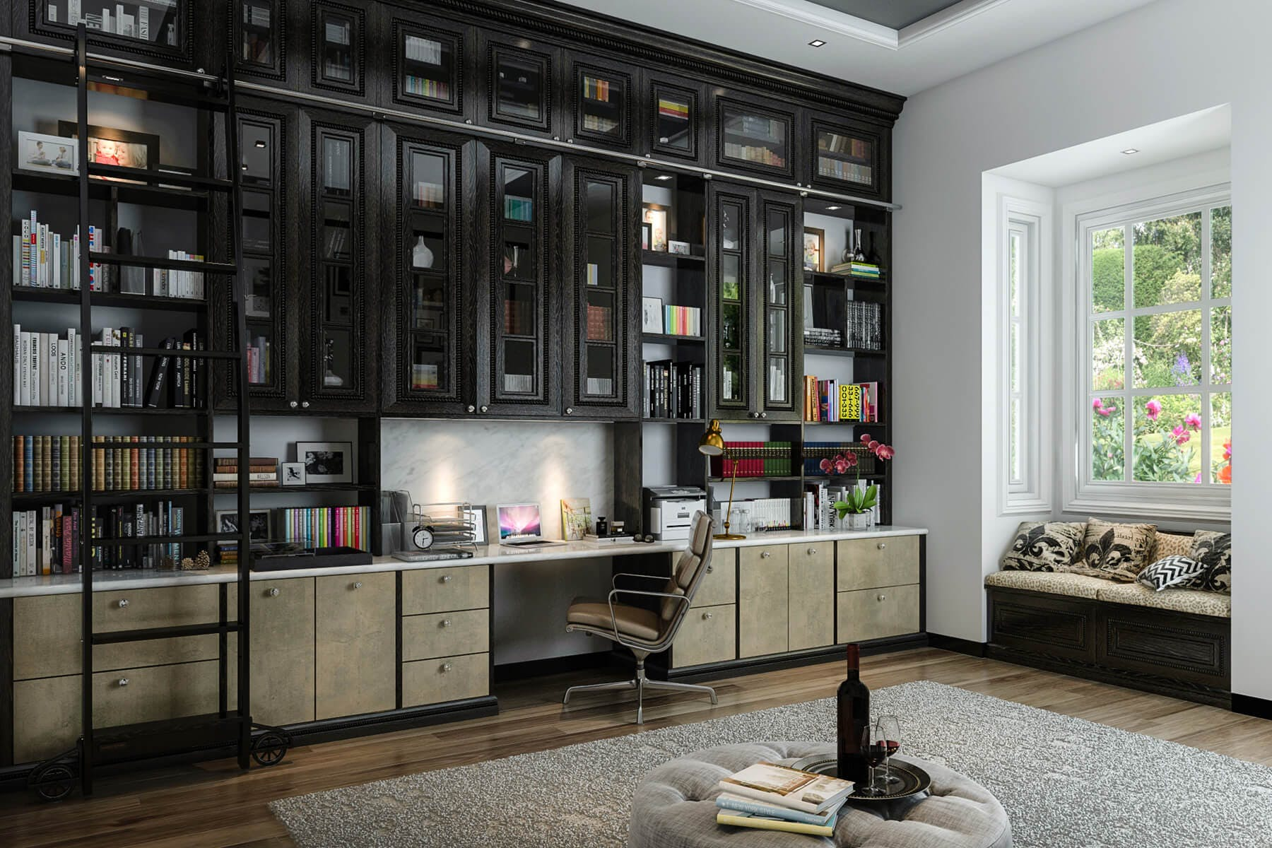 Office Home Custom Home Offices Office Built In Design Closet Factory