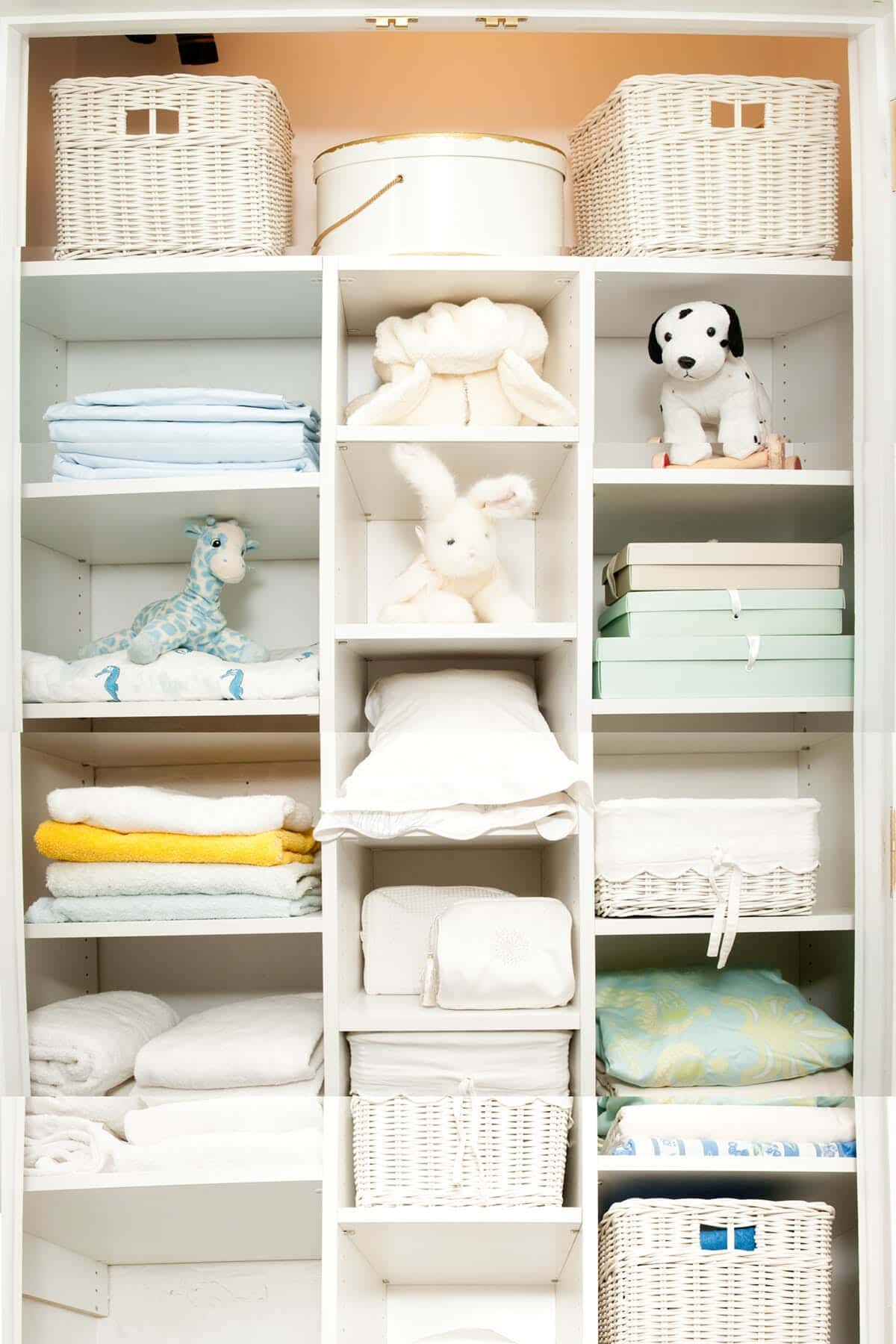 Linen Closet Organizer Systems Kid Organization Systems Custom Design Closet Factory