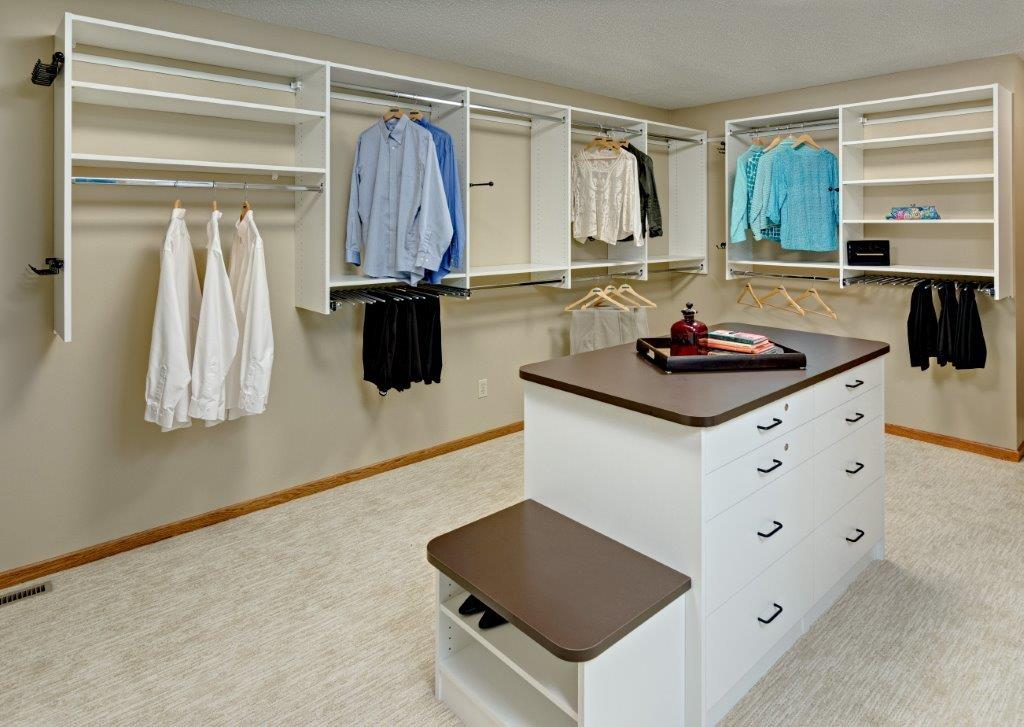 Closet Island Walk In Closets Minneapolis | Walkin Closet St Paul