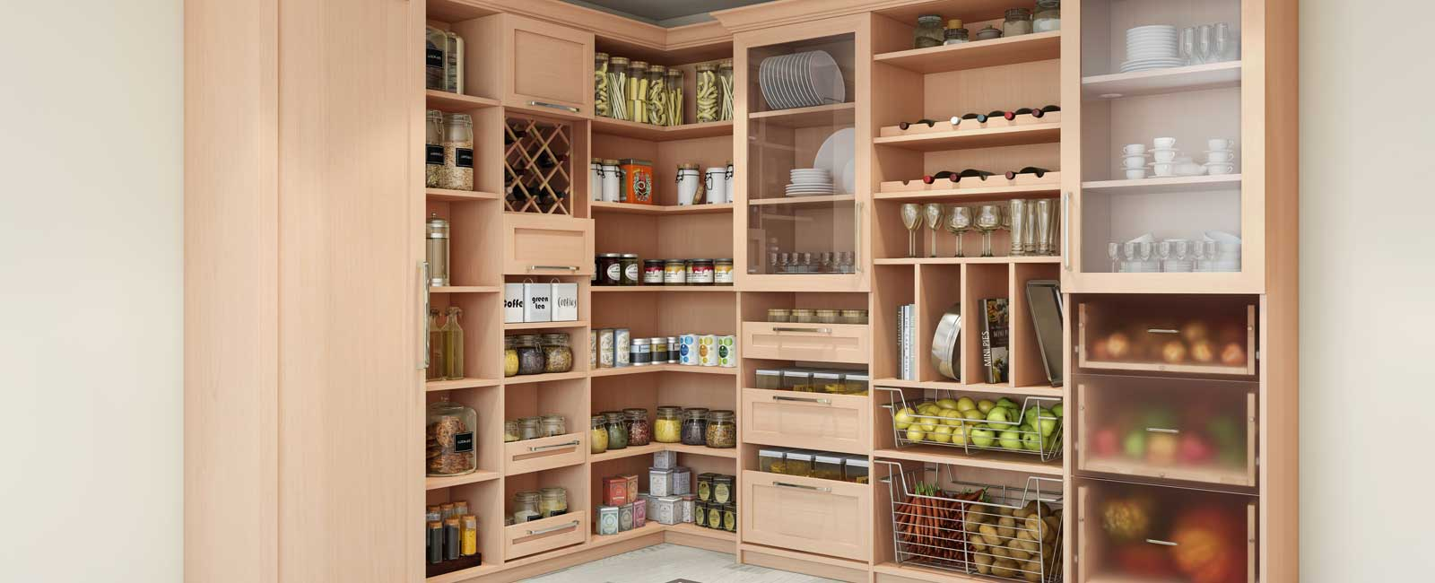 Closet Pantry Kitchen Pantry Closets And Cabinets Pantry Closet Organizers