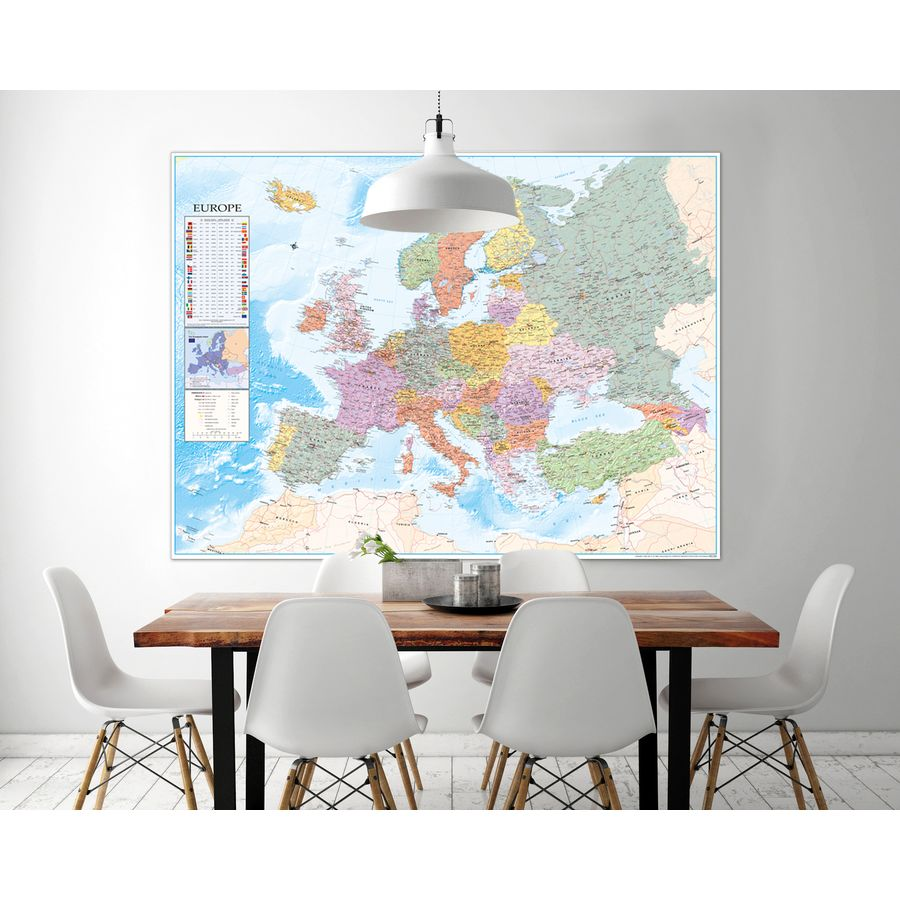 Xxxl Poster Europe Map Xxxl Poster Flags Giant Posters Buy Now In The Shop
