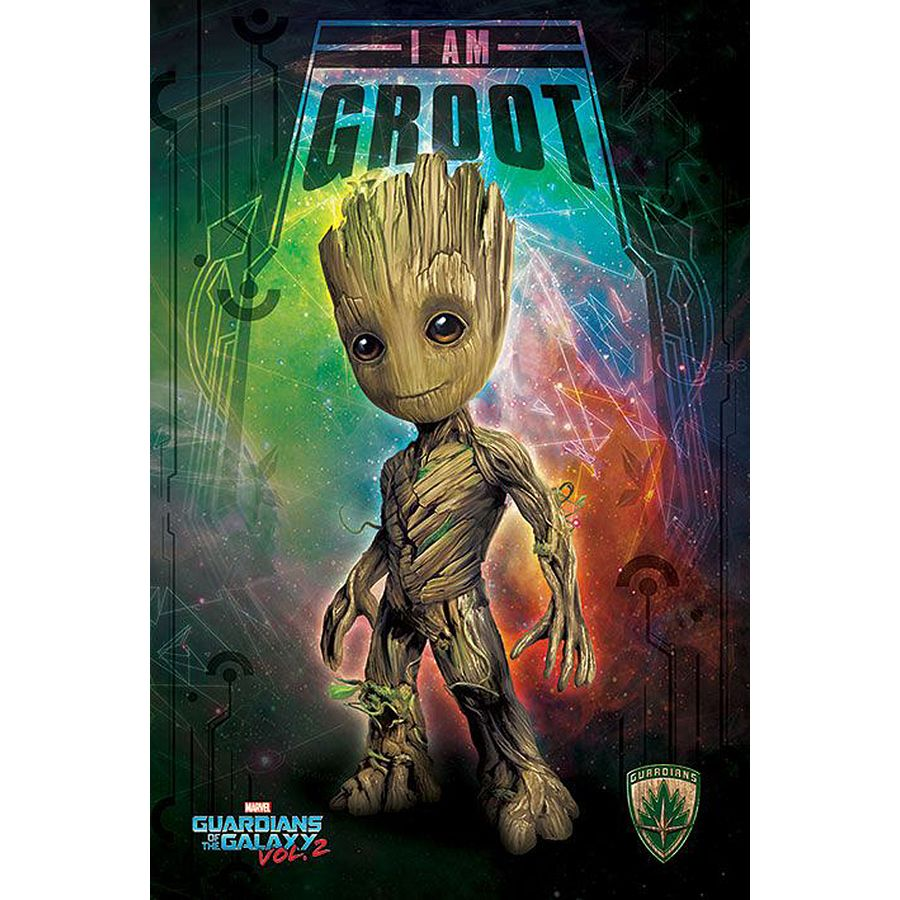 Breaking Bad Bettwäsche Marvel Guardians Of The Galaxy Vol. 2 Poster - I Am Groot [kid]