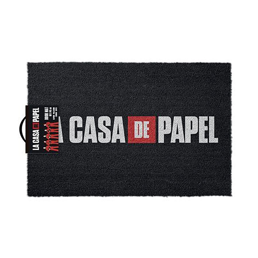 Cannabis Bettwäsche La Casa De Papel Doormatt Logo Money Heist - Doormats Buy Now In The Shop Close Up Gmbh