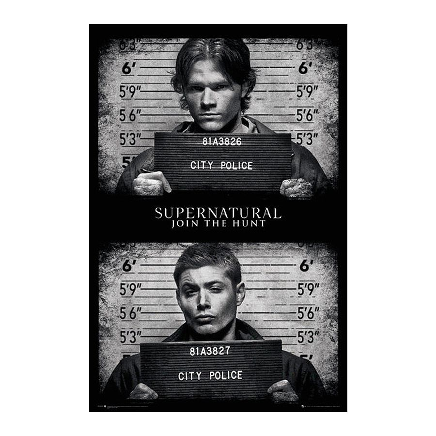 Supernatural Bettwäsche Supernatural Poster