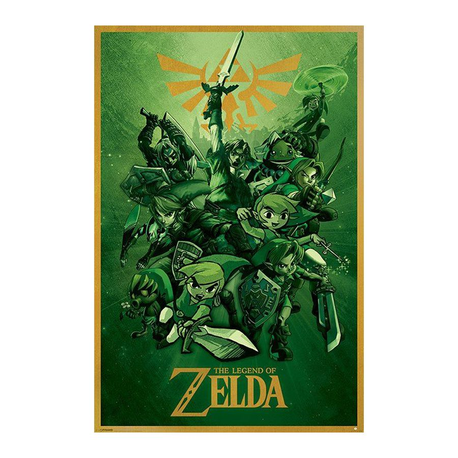 Zelda Bettwäsche The Legend Of Zelda Poster