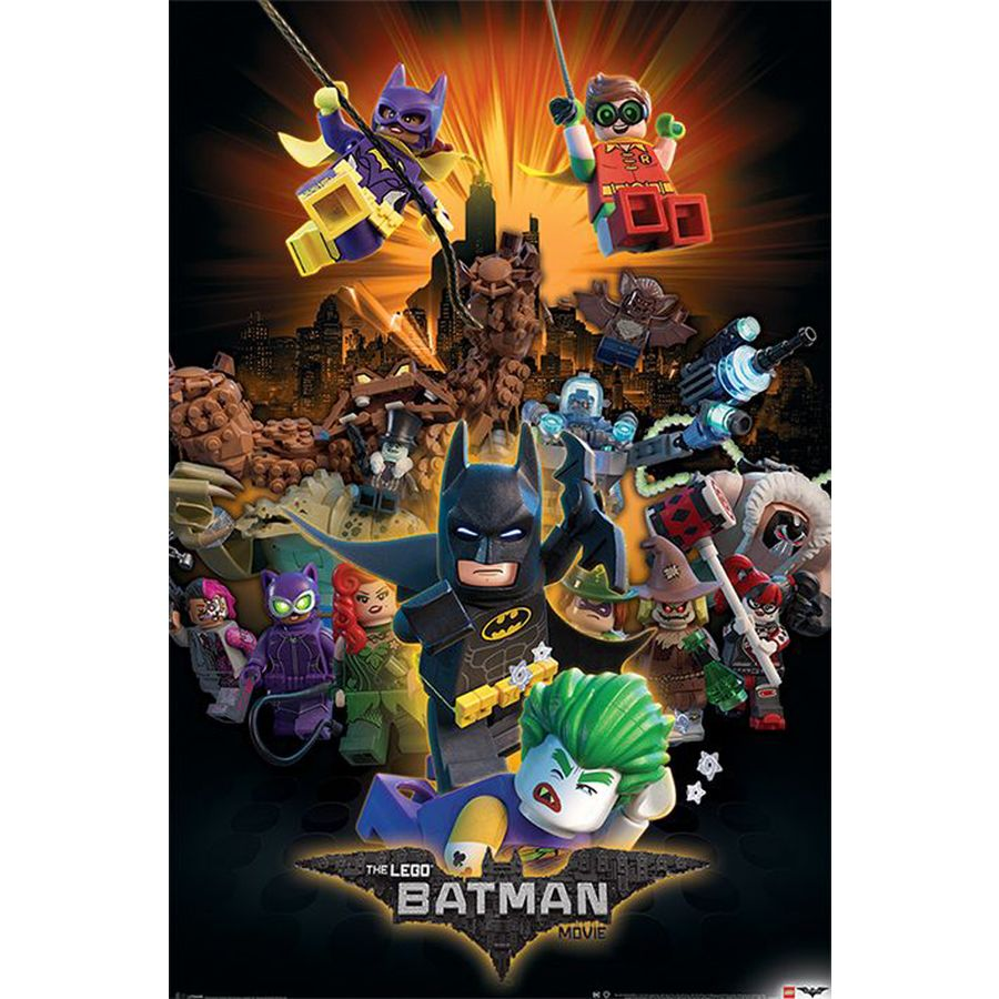 Fototapeten Lego The Lego Batman Movie