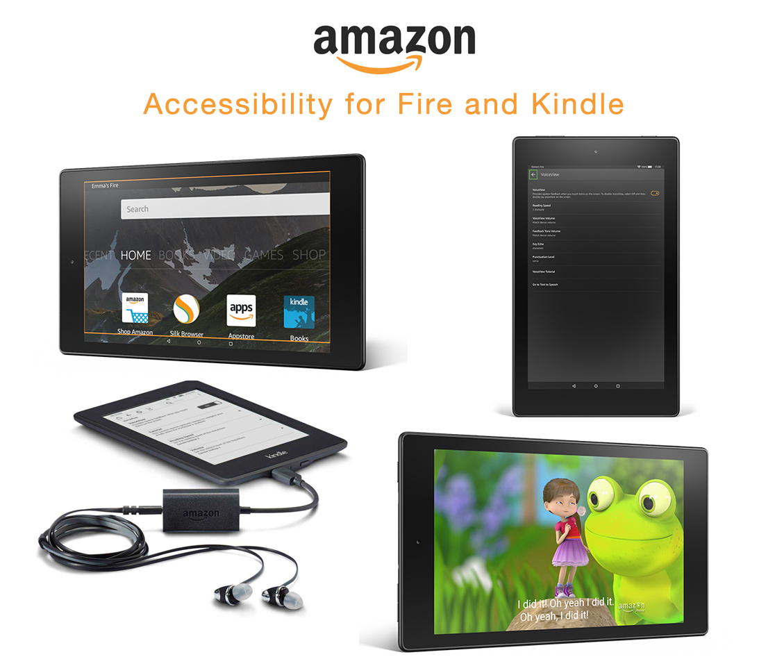 Amazon Kindle Amazon Accessibility For Fire And Kindle Closing The Gap