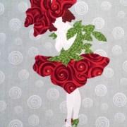 Floral Fairies Applique Block 3