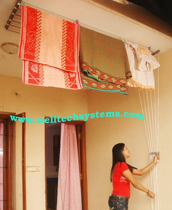 Pully Cloth Drying Hanger Chennai Cloth Drying Hanger