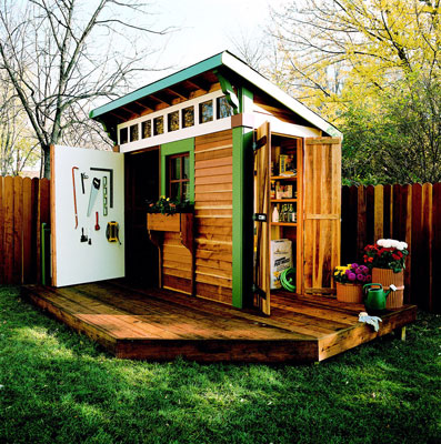 Home Design Tips - Plan the Perfect Garden Shed - garden shed design