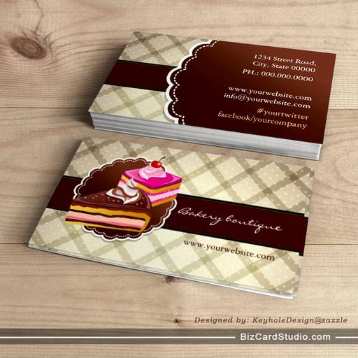 Cake making business cards gallery card design and card template business cards for cake makers gallery card design and card template nice cheap calendar printing canada reheart Image collections