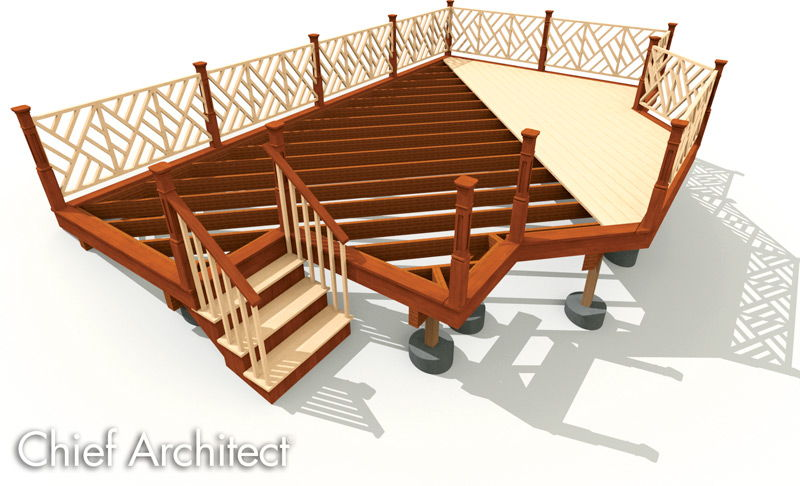 Chief Architect Home Design Software - Samples Gallery - 3d house plans