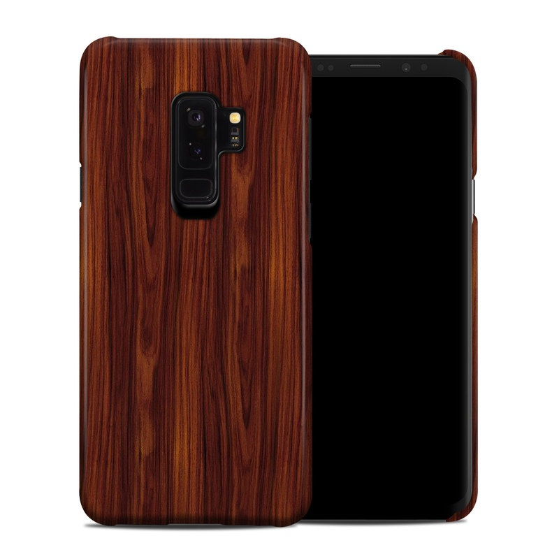 Dark Rosewood Samsung Galaxy S9 Plus Clip Case iStyles - rosewood case