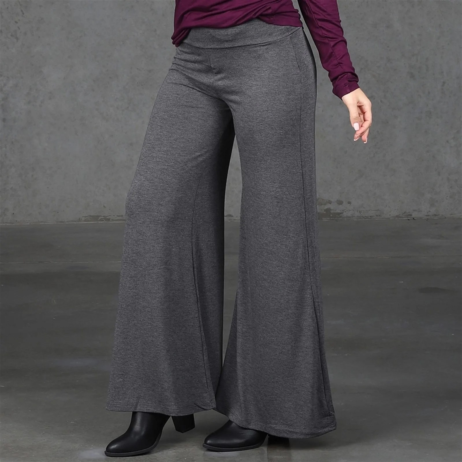 Pants S Xl Solid Palazzo Pants S Xl Jane
