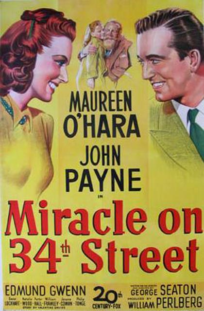 Risultati immagini per miracolo nella 34a strada 1947