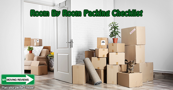 The Best Room By Room Packing Checklist for Your Move